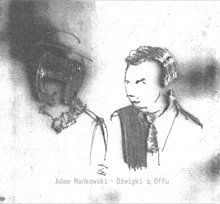 Adam Mankowski Dzwieki z Offu cover front