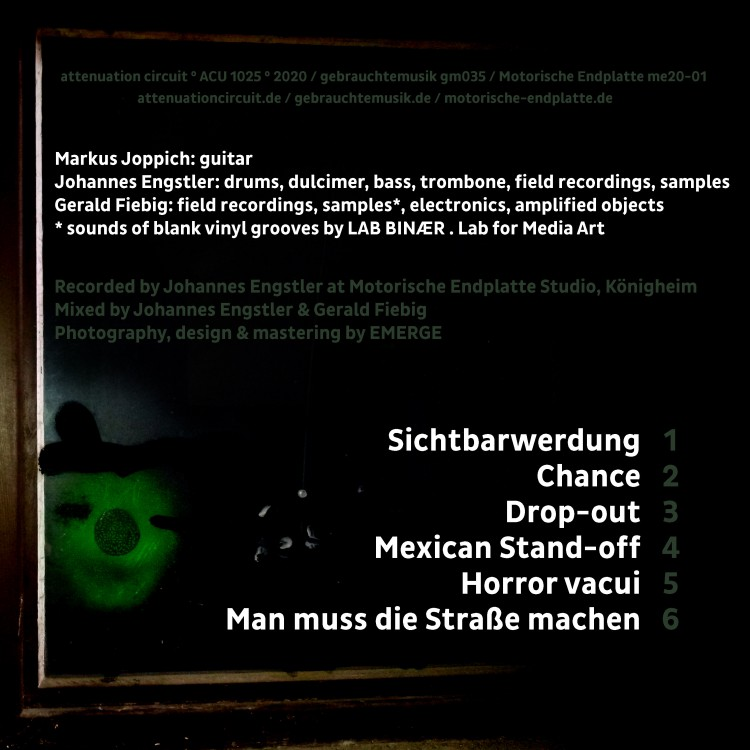 Das Tote Kapital & Gerald Fiebig Das Tote Kapital & Gerald Fiebig cover back