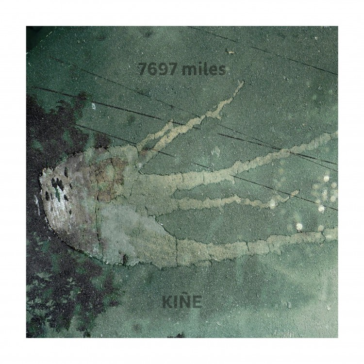 7697 miles Kiñe cover front