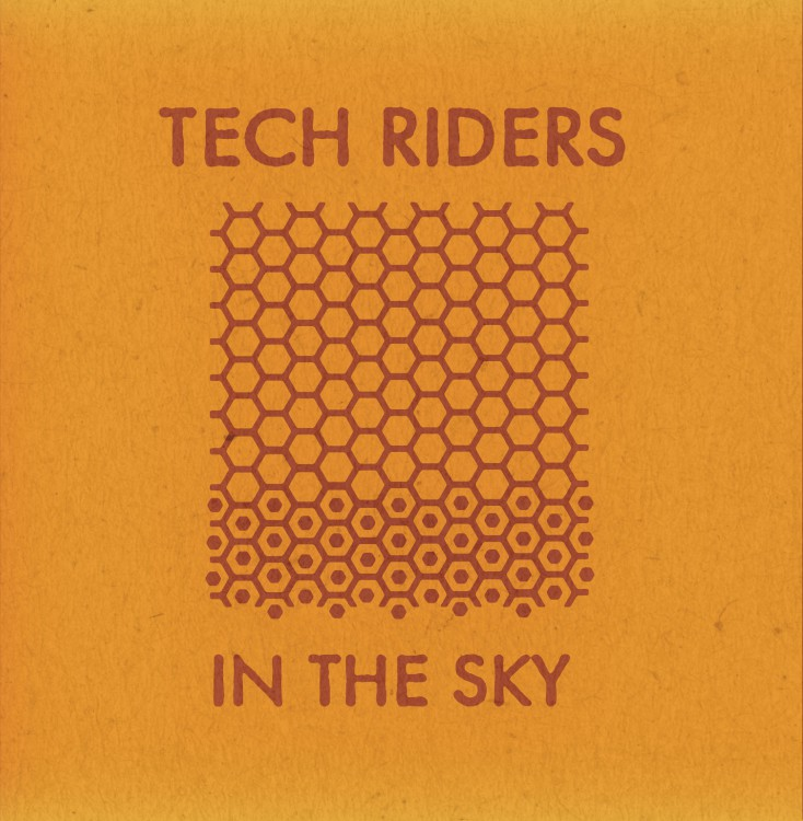 TECH RIDERS In The Sky cover front